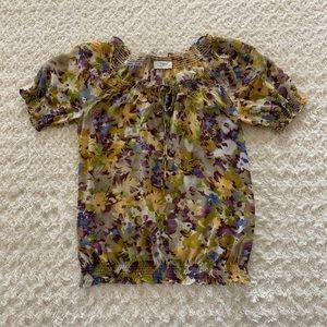 LOFT floral top
